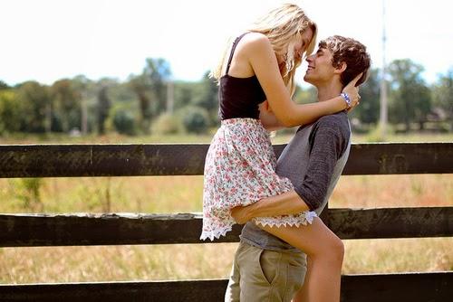Love Hugging Couple