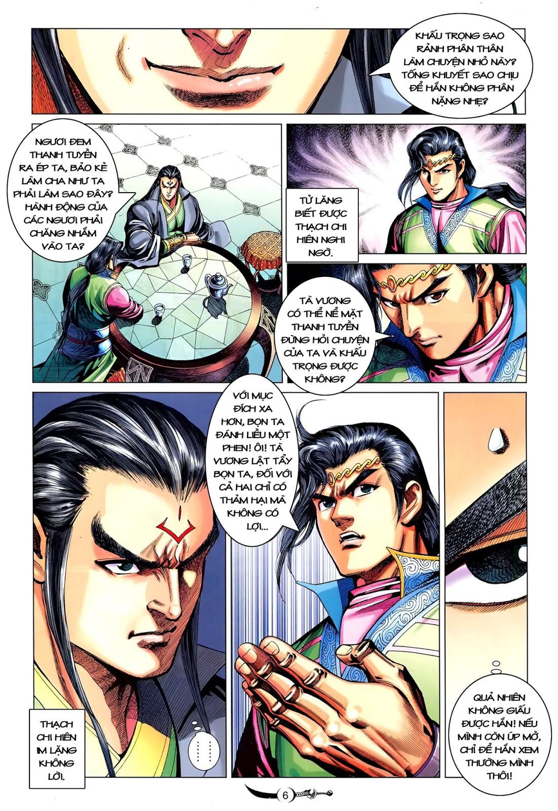 Đại Đường Song Long Truyện chap 216 - Trang 8