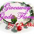 Giveaway Gadis Floral by Cik Akie