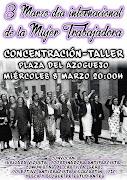 Concentración Dia internacional de la mujer Trabajadora