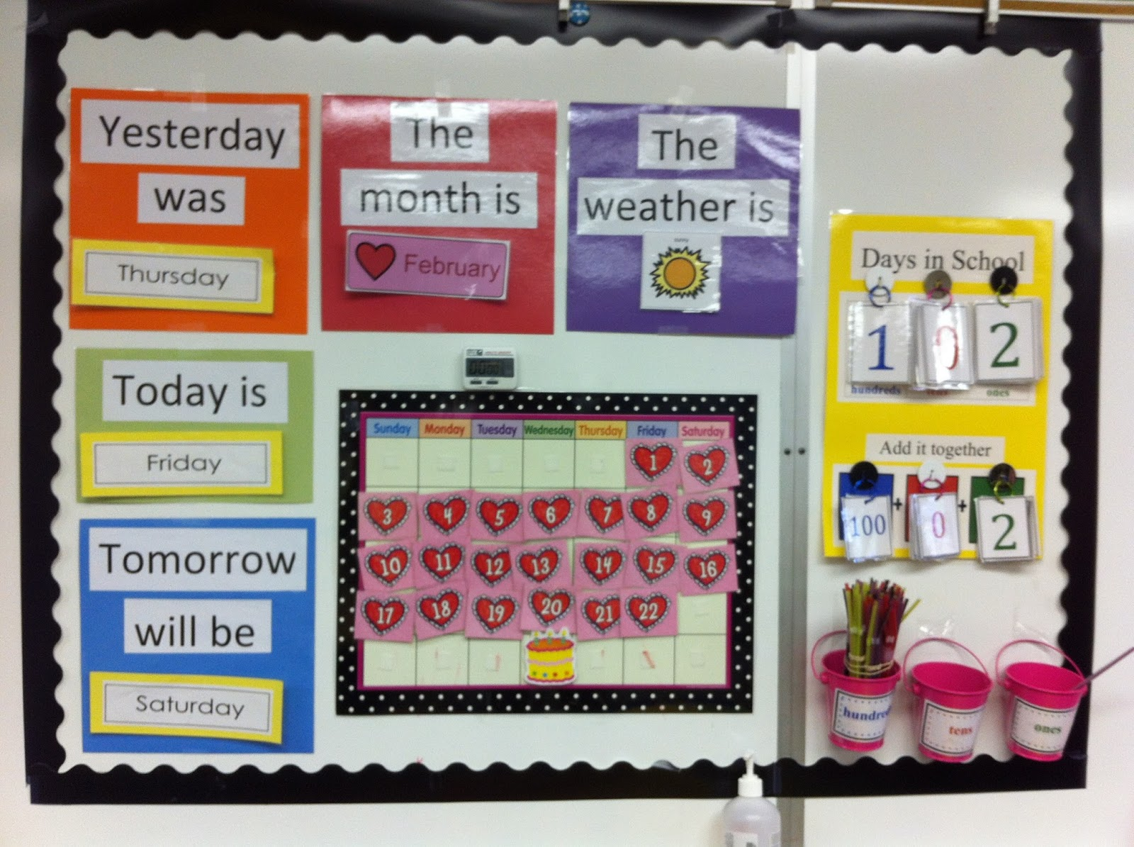 Weekly Calendar Autism : Guest post a differentiated calendar routine the autism