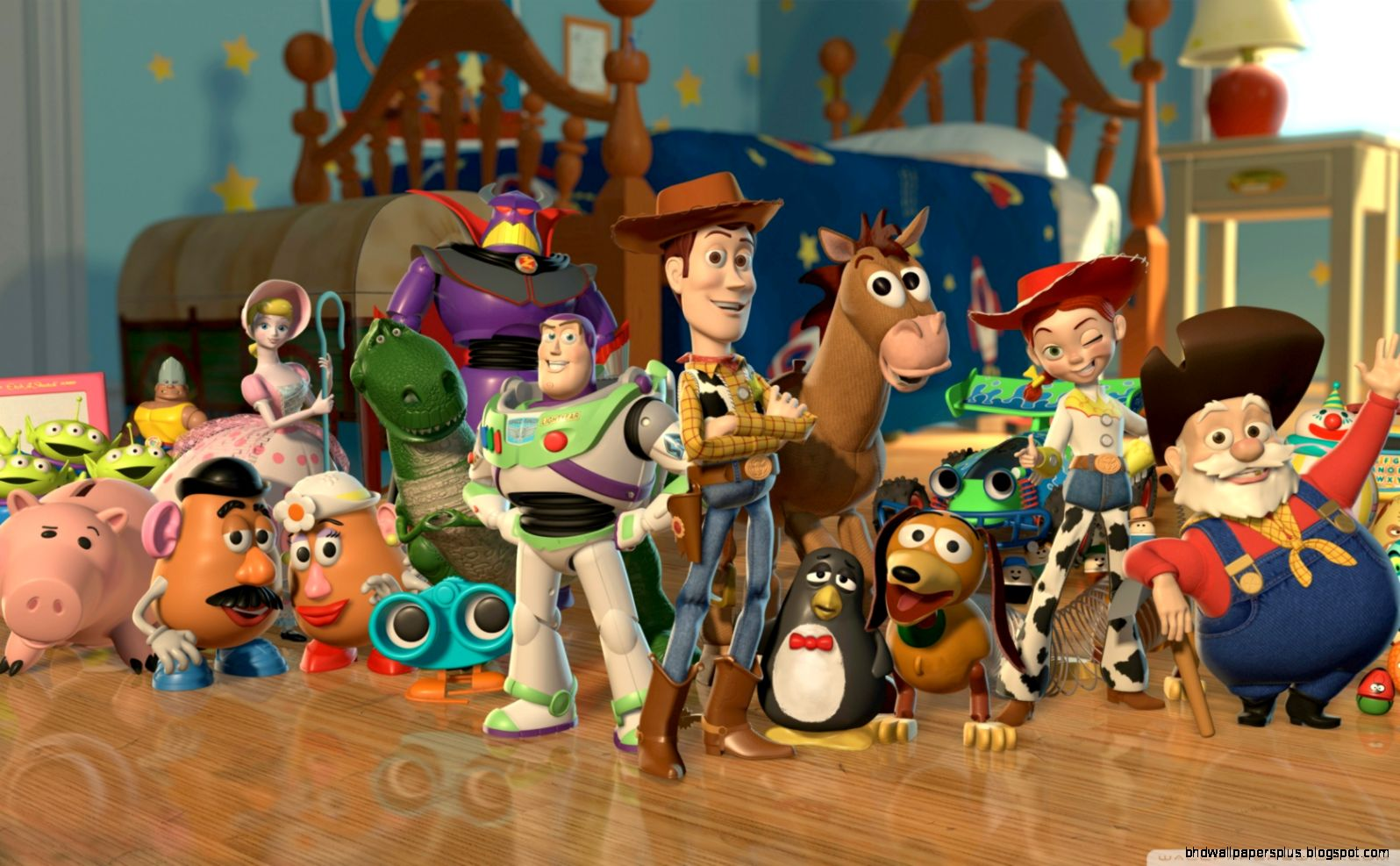 Toy Story 2 Characters HD desktop wallpaper  High Definition  Mobile