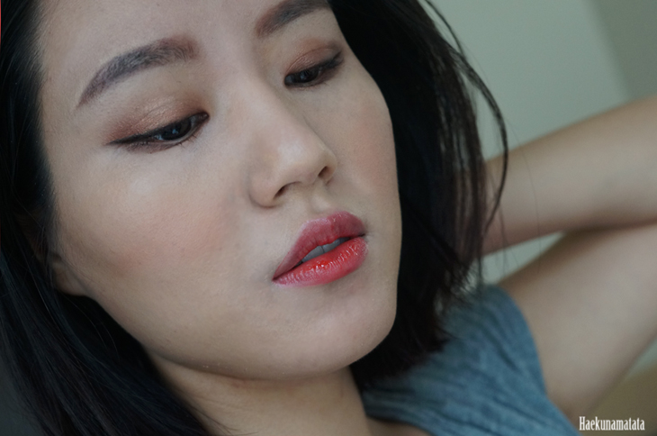 NARS Luster blush review fotd2