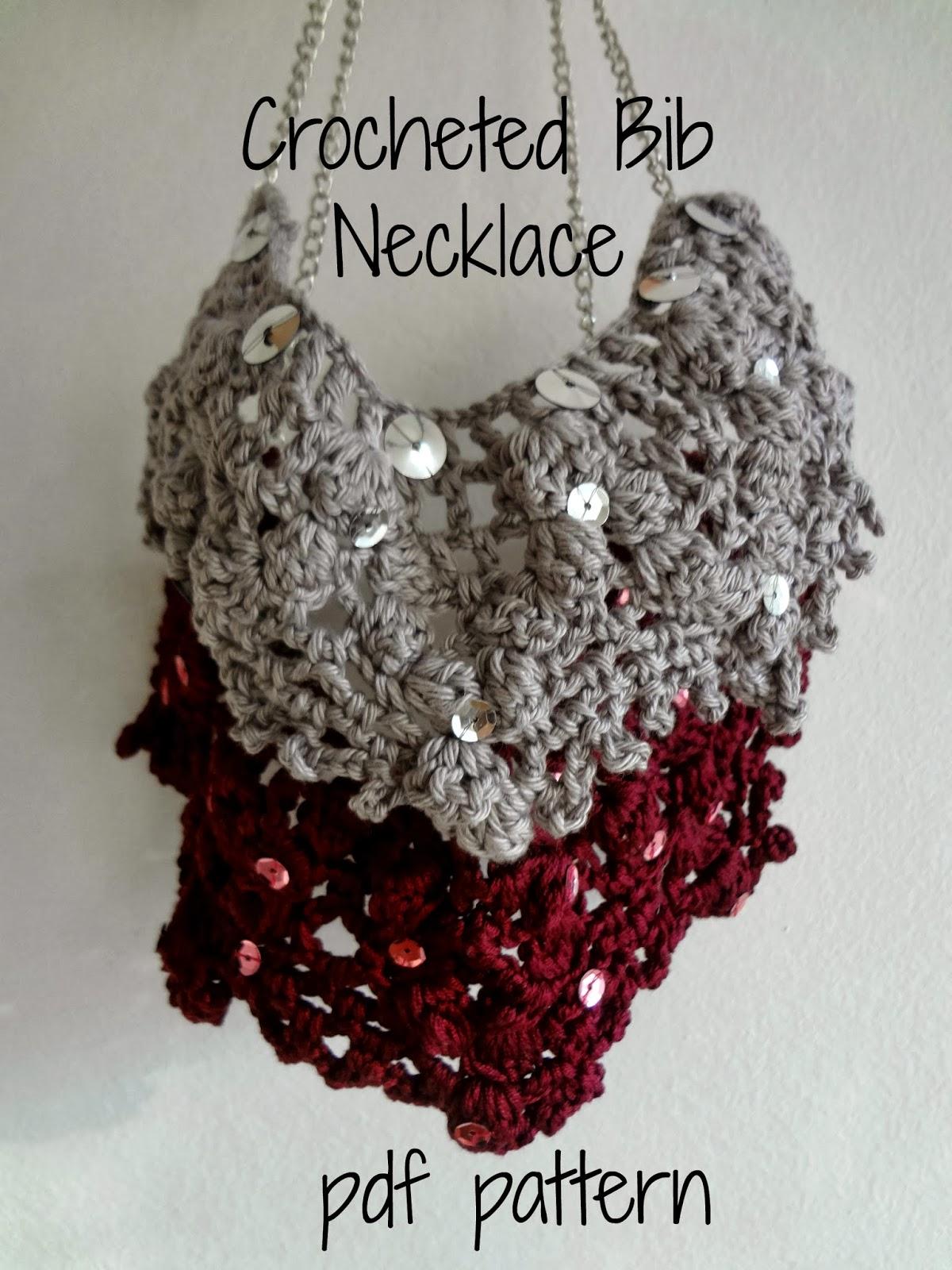 Little Treasures: Crocheted Bib Necklace Pattern