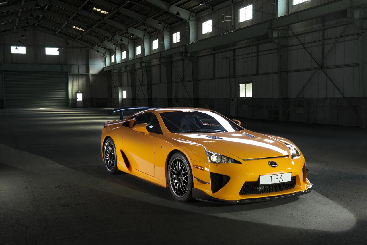 LEXUS LFA NÜRBURGRING HD WALLPAPER