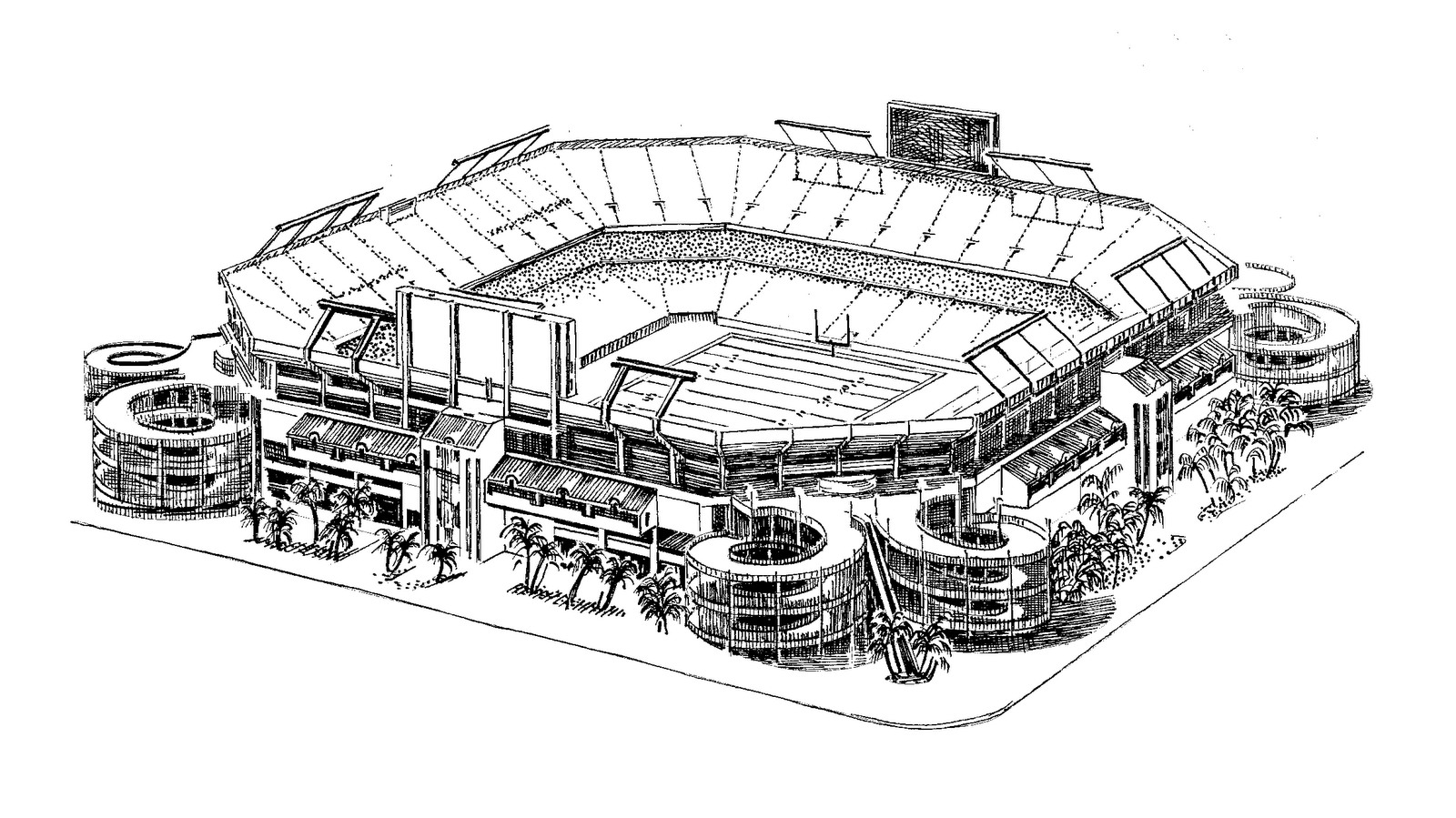 nfl stadium coloring pages - photo#6
