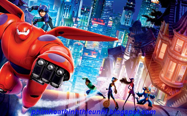 Phim hoạt hình Biệt đội Big Hero 6