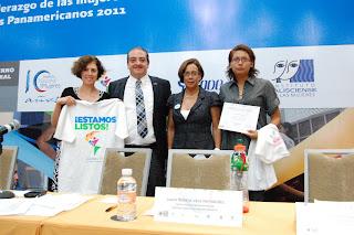 """Foro: """"Liderazgo de las mujeres en el deporte, rumbo a los Panamericanos 2011"""""""