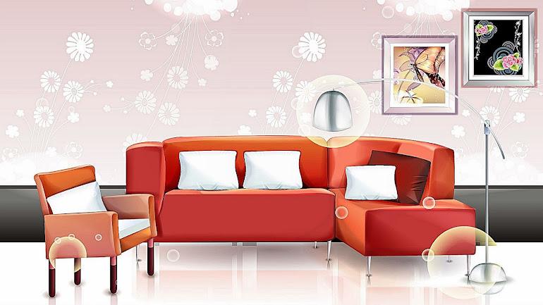 Interior Red Corner