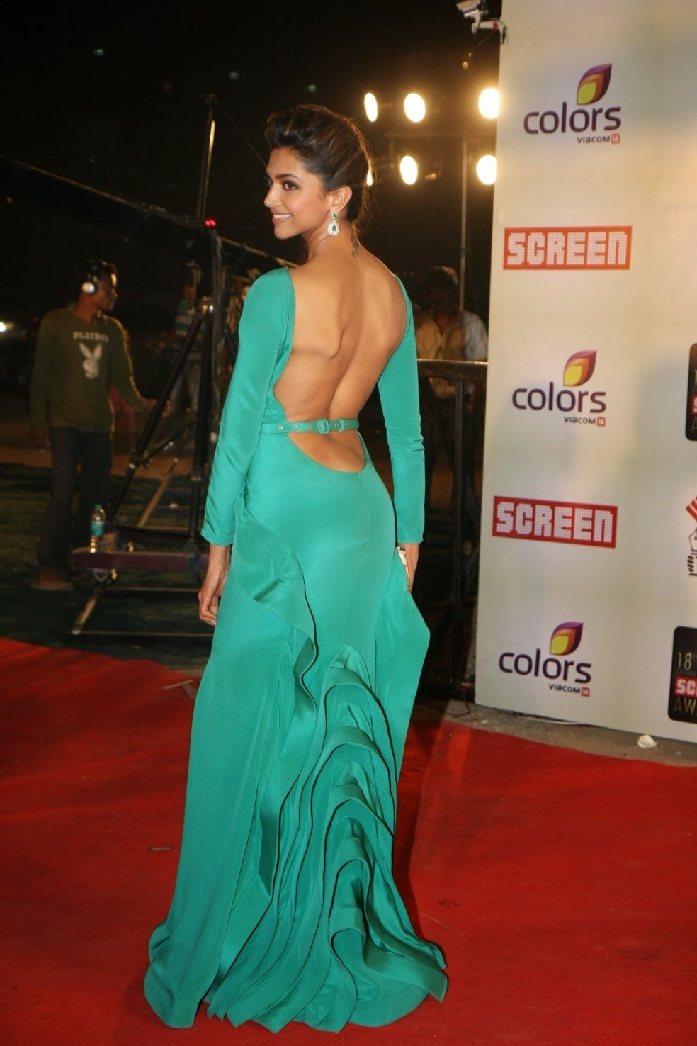 Deepika Padukone Backless Photoshoot