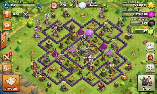 Inilah Cara Cepat Meningkatkan Level Town Hall Clash Of Clans