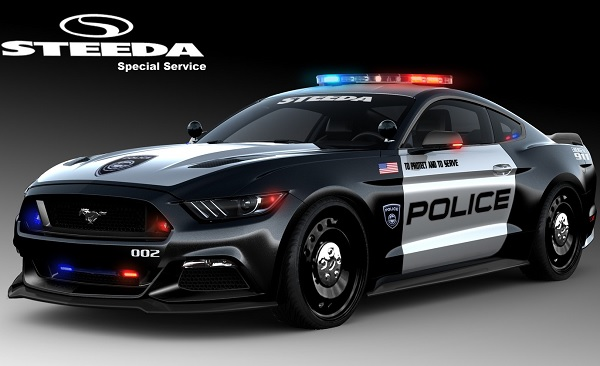 Ford Mustang Police Interceptor