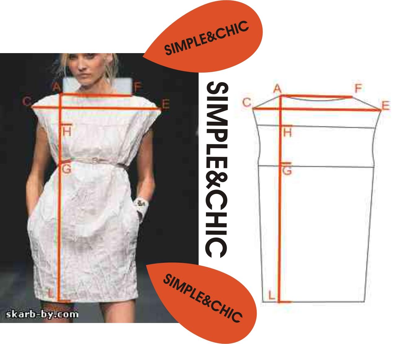 Как сшить платье прямое на резинке своими руками