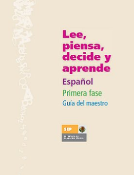 LEE, DECIDE, PIENSA Y APRENDE (MAESTRO)
