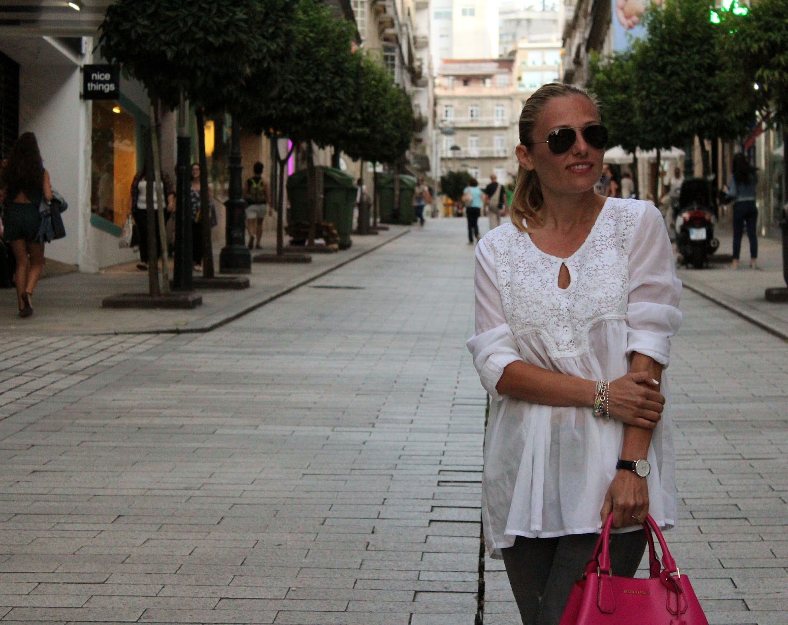 Eniwhere Fashion - Zara Denim & shirt from Vigo