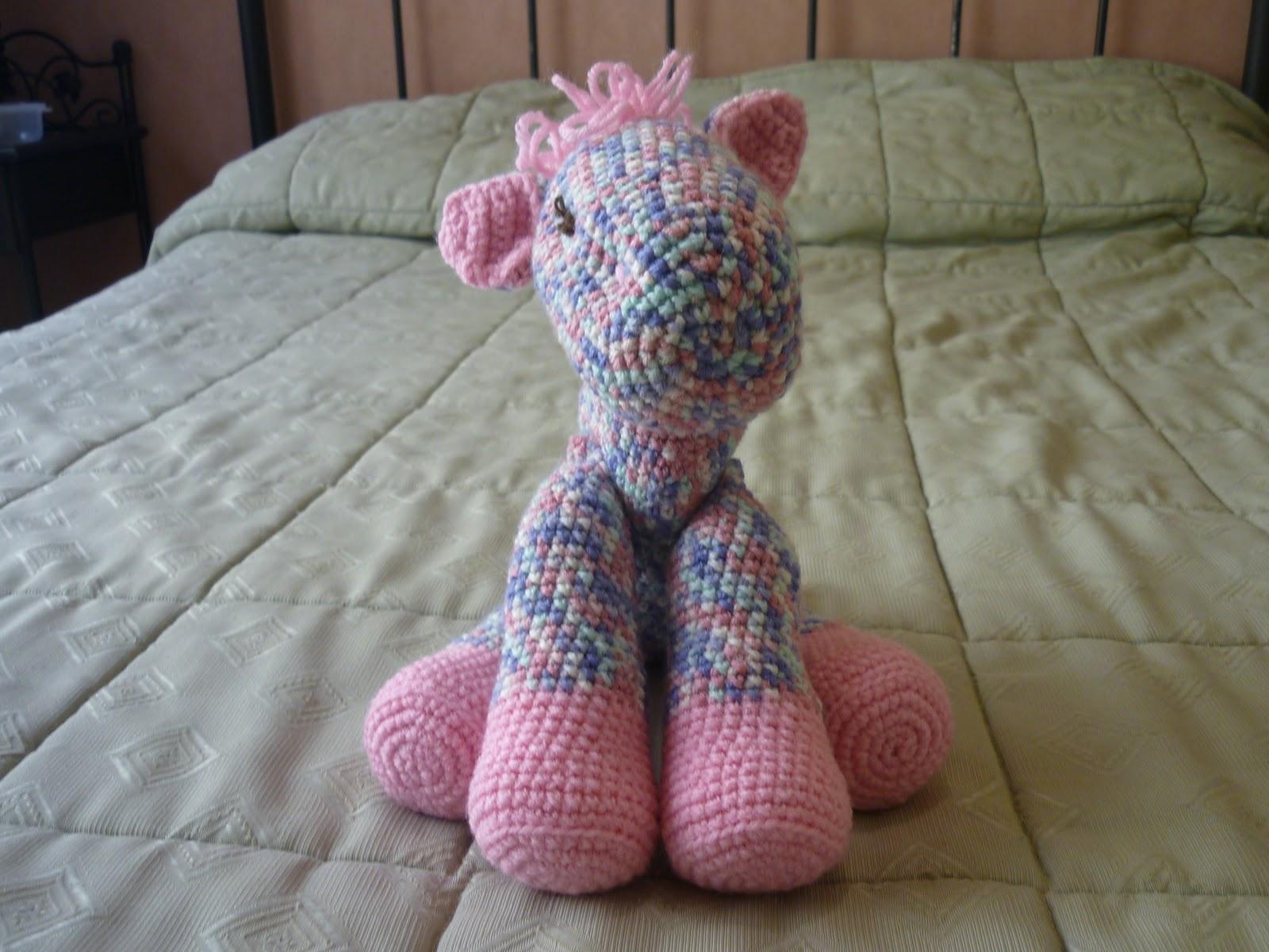 Ponytail Amigurumi : Tejiendo Suenos: Pony amigurumi crochet multicolor