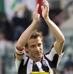 Alessandro Del Piero anuncia su retiró para el final de la temporada