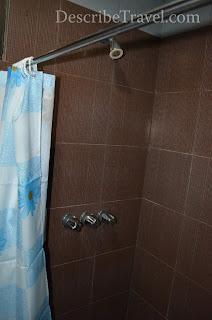 toilet with shower - olongapo city inn