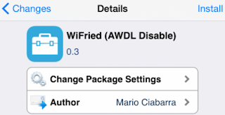 Fix iOS 8 Wifi Issue WiFried App