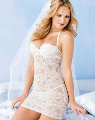 Chemise+Lace+Wedding+Lingerie