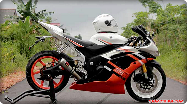 contoh modifikasi motor sport vixion