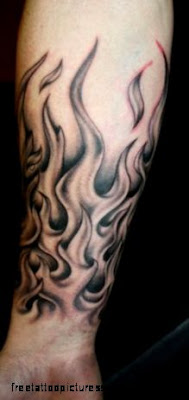 Flame Tattoos on Pinterest  Dice Tattoo Maltese Cross Tattoos