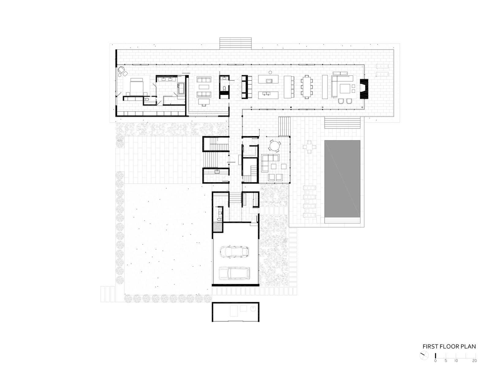 Architecture as aesthetics tred avon river house robert for River house plans