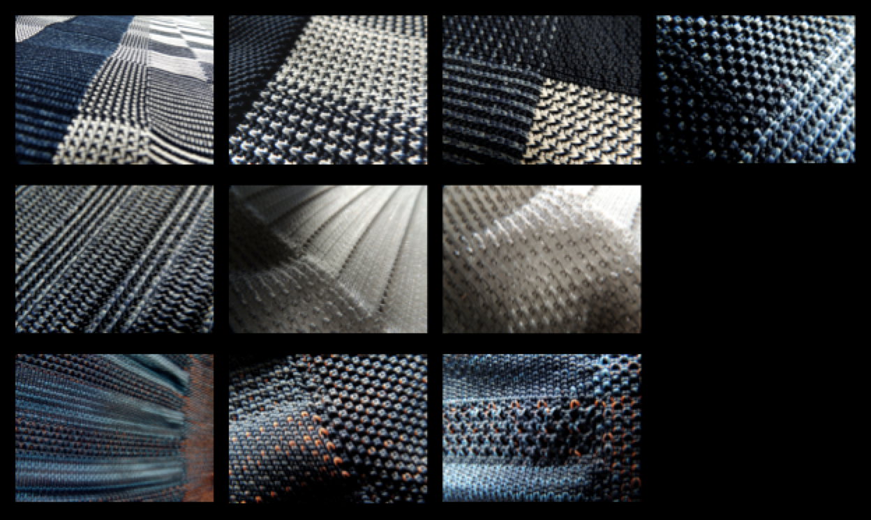 Knitting Fabric Structure : Angela gidden a design eye for detail