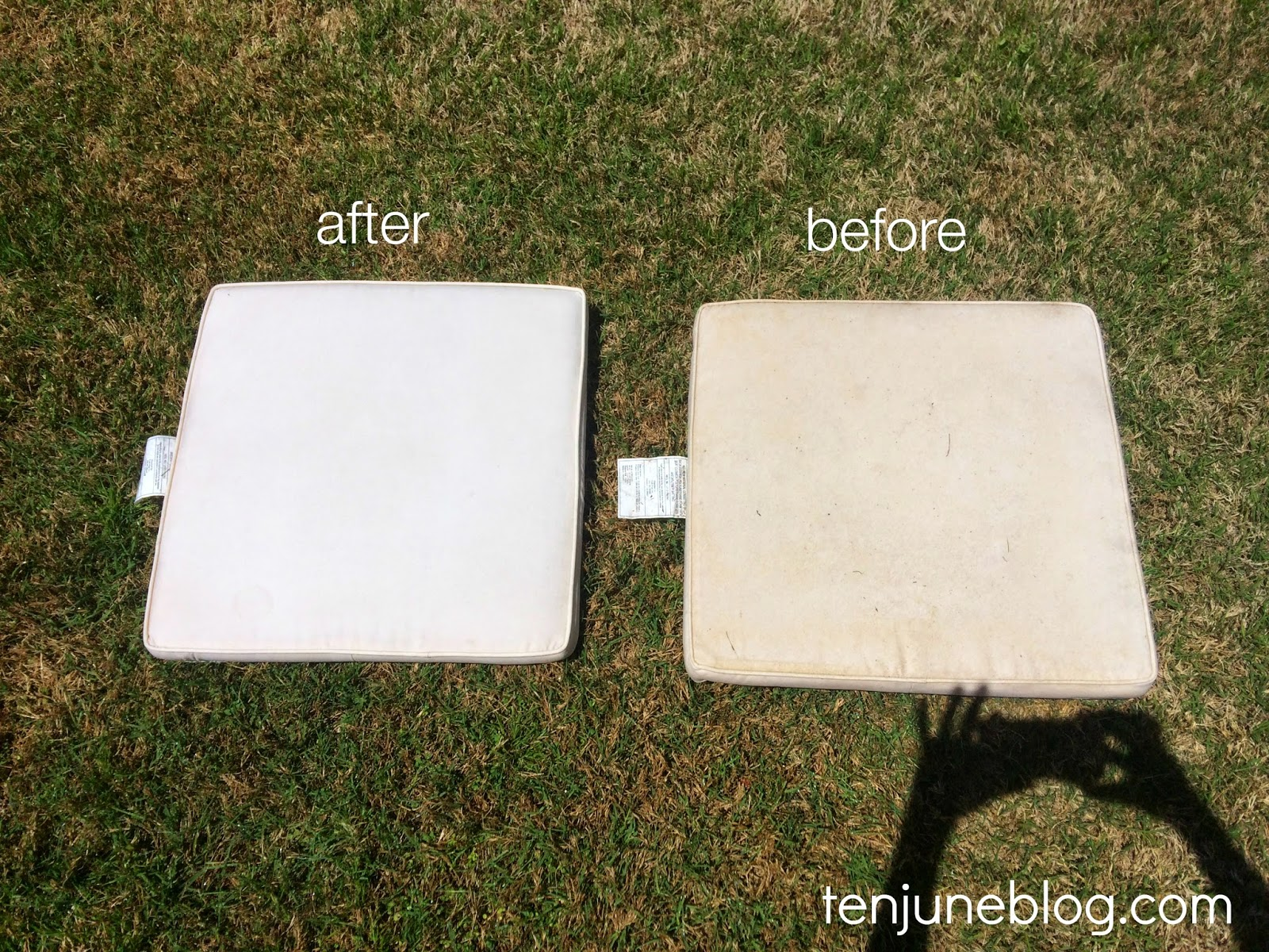 Ten June How to Clean Outdoor Patio Cushions