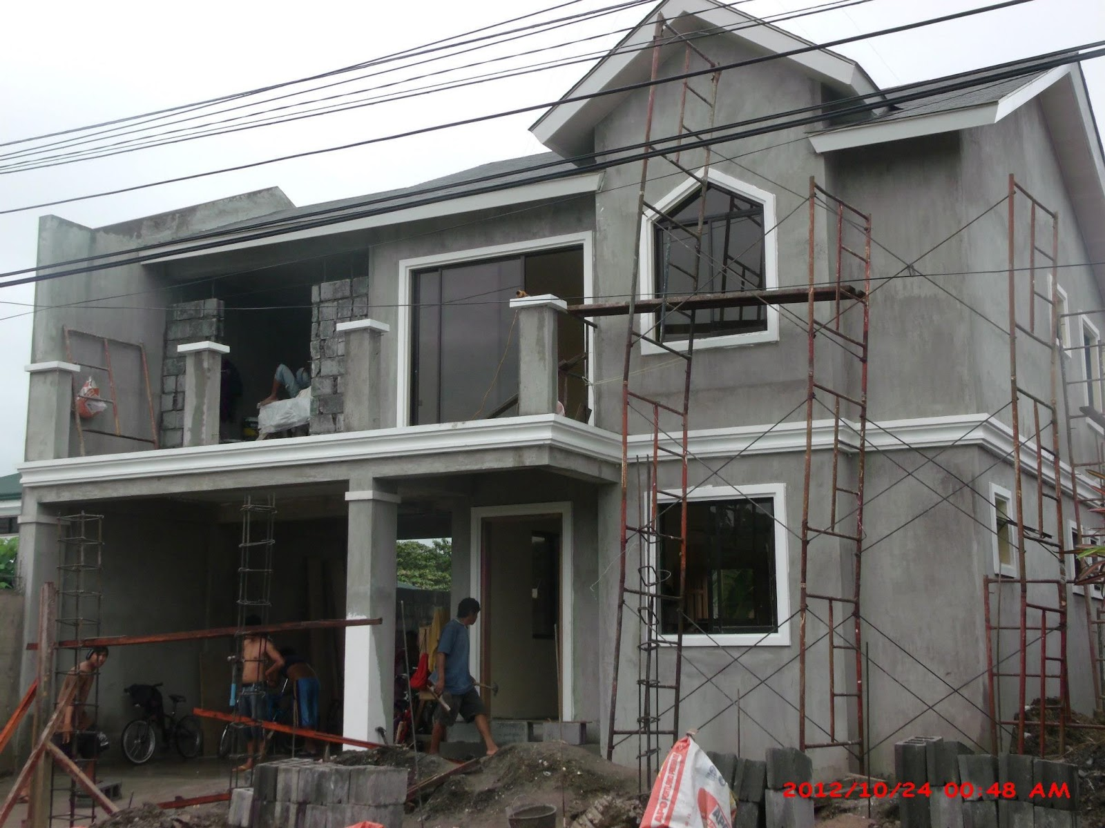 Alta tierra village house construction project in jaro New house project
