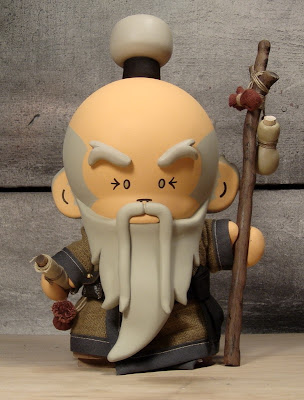 Whiskers the Wizard Custom Vinyl Figure by Huck Gee