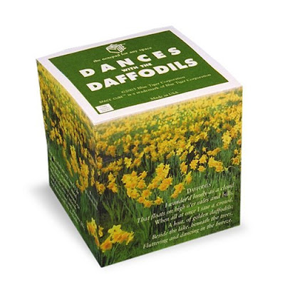 Still time to win a daffodil note cube in the Daffodil Blogorama 2011