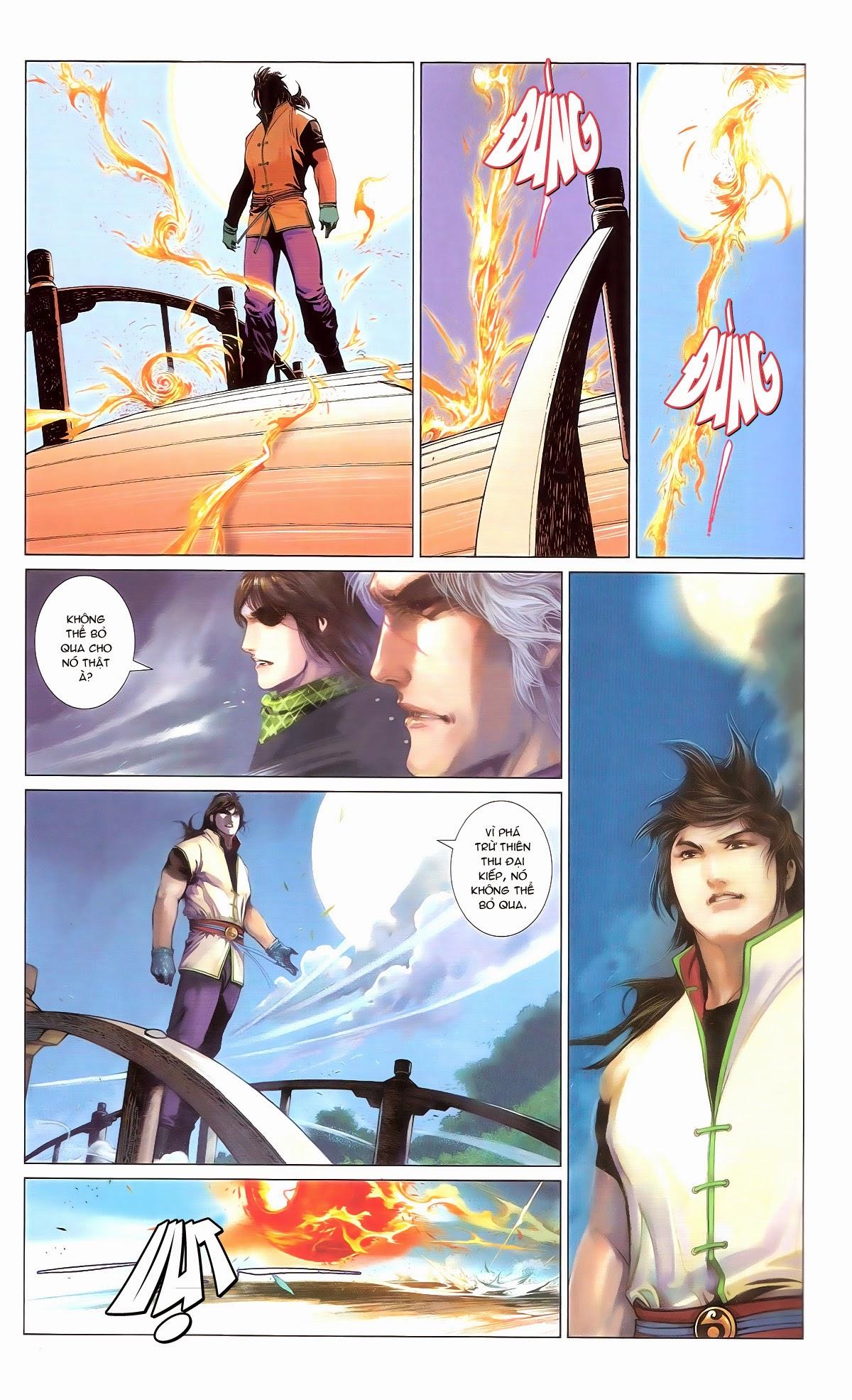 Phong Vân chap 674 – End Trang 28 - Mangak.info