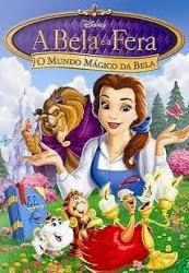 Filme A Bela e a Fera O Mundo Mágico de Bela Dublado AVI DVDRip