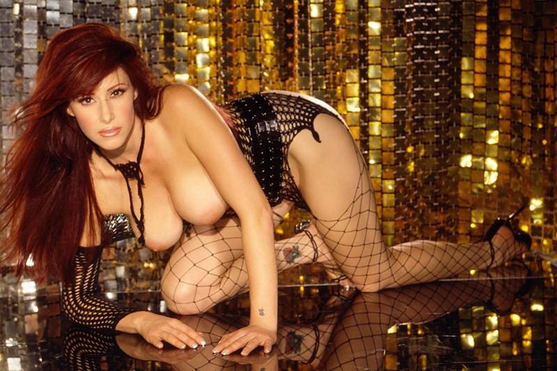 Naked Tiffany Darwish in Playboy