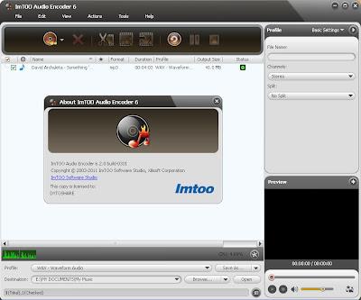 ImTOO Audio Encoder 6.2