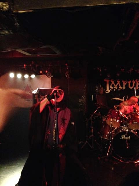 Impurity from  Brazil playing at Okubo Earthdom