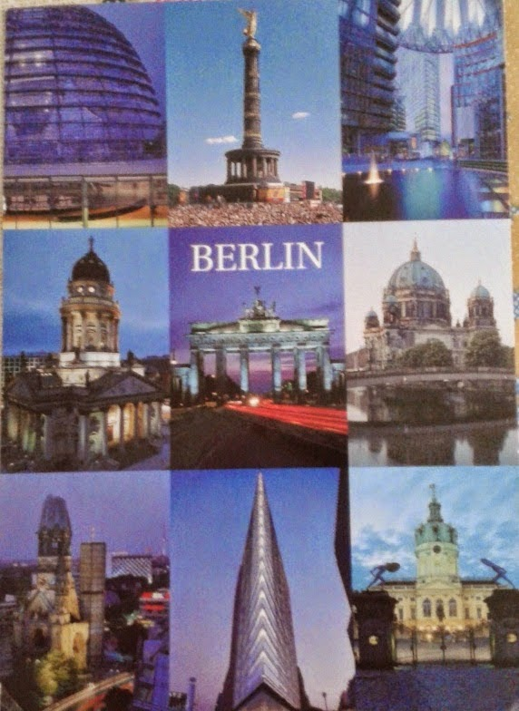 postal de Berlim