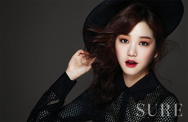 Lee Yoo Bi - Sure Magazine January Issue 2014