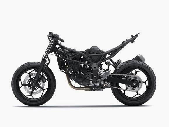 Spesifikasi Kawasaki Ninja RR Mono - naked