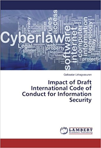 Impact of Draft International Code of Conduct for Information Security (2017)