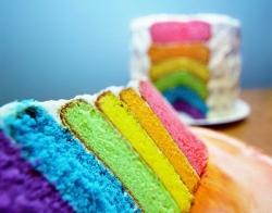 Foto Kue Pelangi