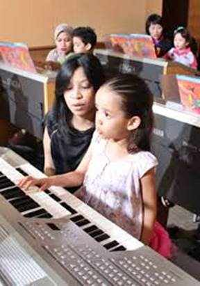 Gambar anak belajar musik nasional