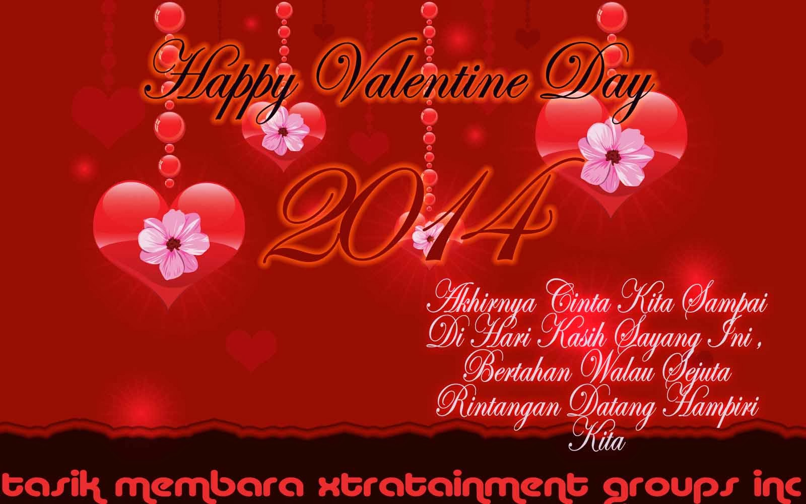 Kartu Ucapan Happy Valentine Days 2014 Romance
