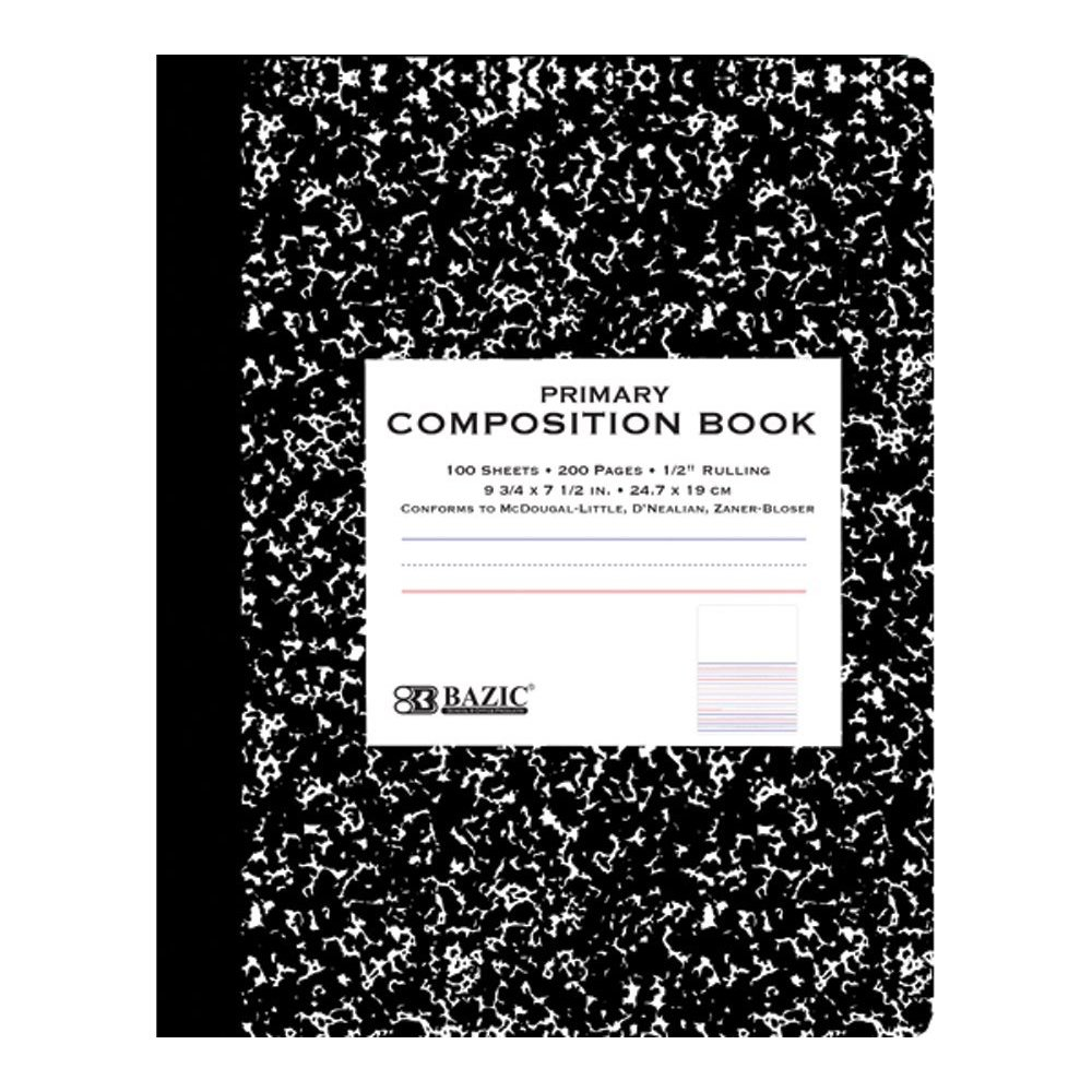 Composition Book Cover Template : Ya warehouse