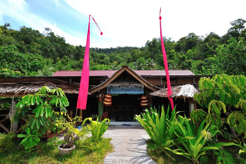 Raja Ampat Dive Lodge Front