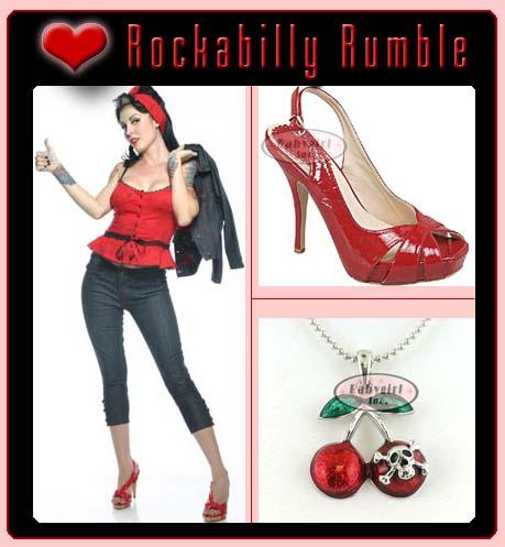Rockabilly Day Woman Pose