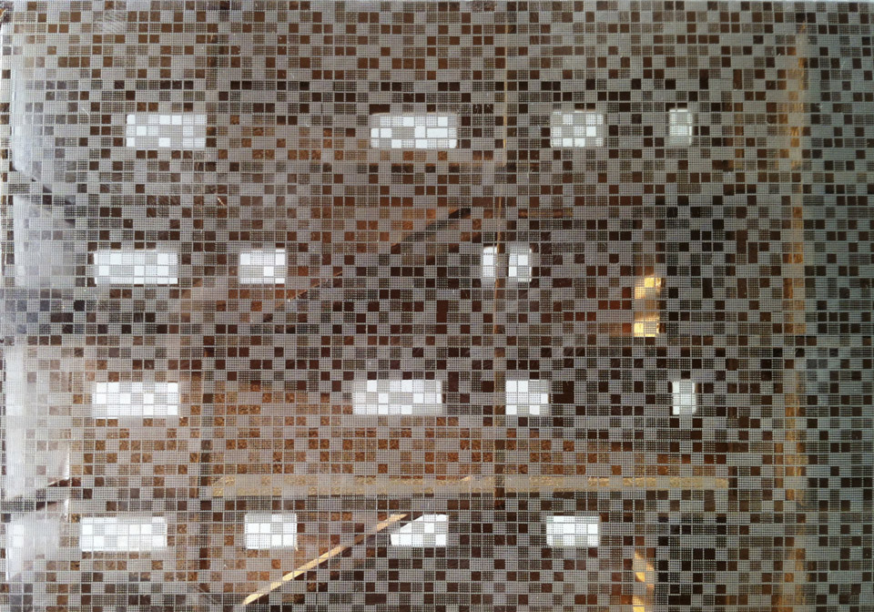Bloco de vidro, predio Leitao 653