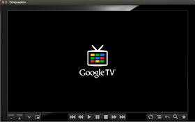 Google TV emulator booting