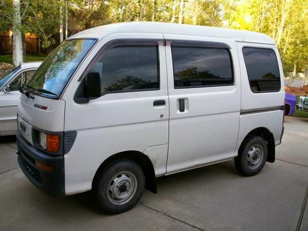 1998 Daihatsu Hijet 4x4 Micro Van | Auto Restorationice
